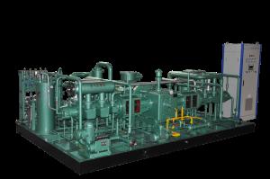 D-(5-6)/200型 氦气压缩机 (300-360Nm3h,20Mpa 出口)